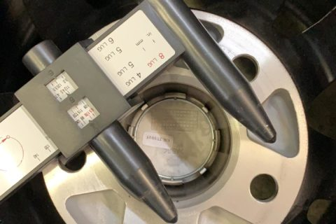 4 Zentrierring 58.1-56.1 f/ür Felgen Aluminium Original Alfa Romeo Fiat Lancia