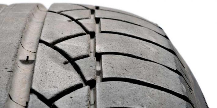 Sägezahn Reifenabfahren