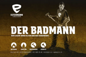 Estermann Gebäudetechnik – Der Badmann